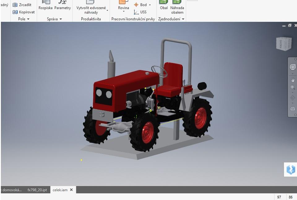 Modelování 3D CAD
